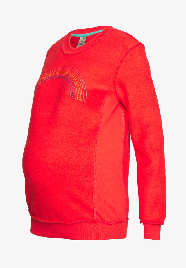 BYRONY JUMPER - Collegepaita - koi red