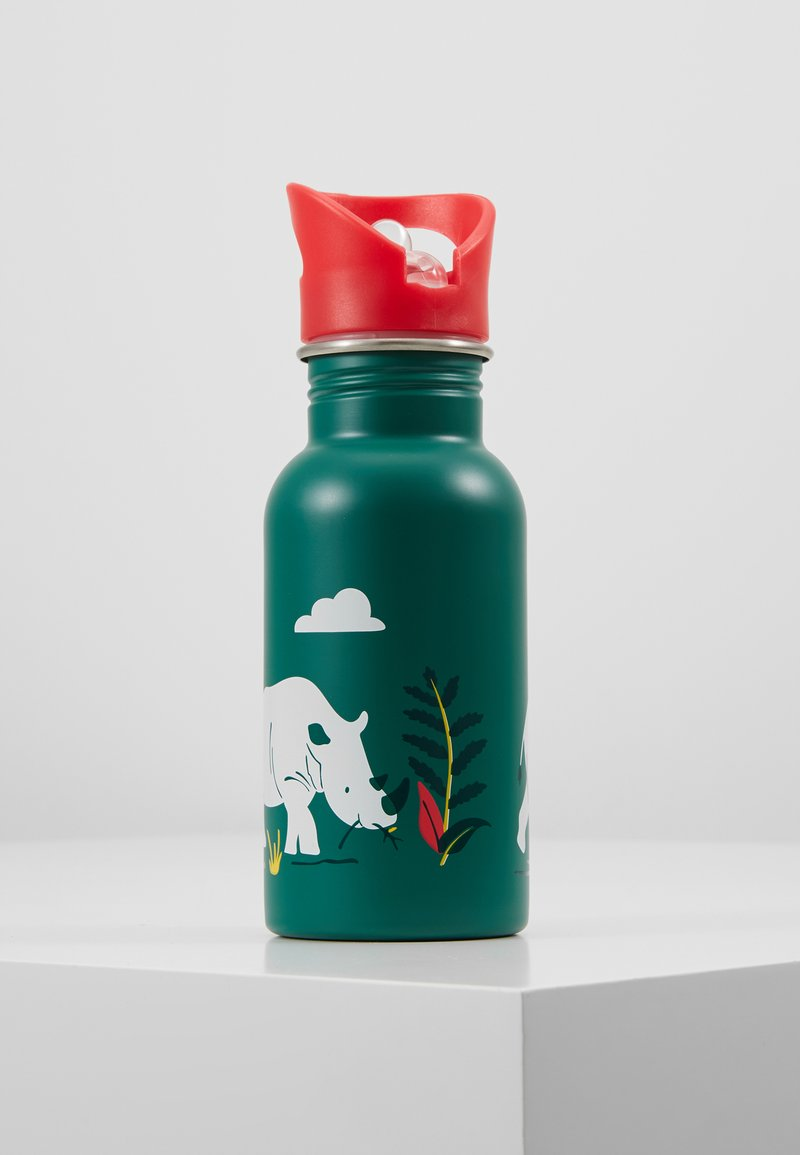 Frugi - SPLISH SPLASH STAINLESS STEEL DRINKING BOTTLE - Trinkflasche - rhino ramble