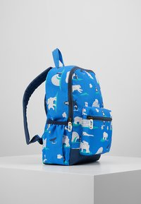 Frugi - RECYCLED FABRIC ADVENTURERS BACKPACK - Batoh - polar play - 3