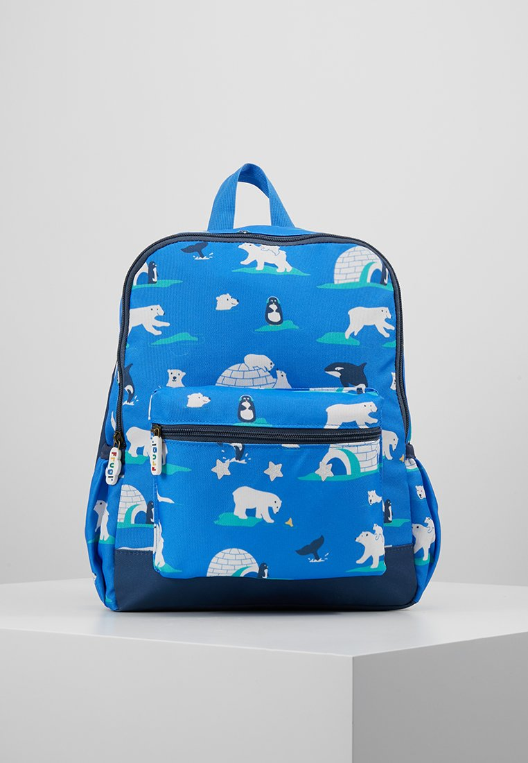 Frugi - RECYCLED FABRIC ADVENTURERS BACKPACK - Batoh - polar play