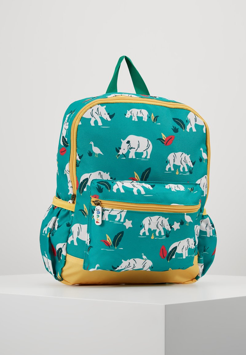 Frugi - RECYCLED FABRIC ADVENTURERS BACKPACK - Rugzak - rhino ramble