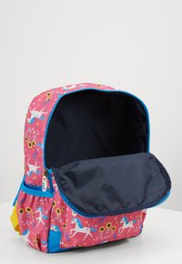 Frugi - ADVENTURERS BACKPACK UNICORN - Reppu - pink/ blue - 4