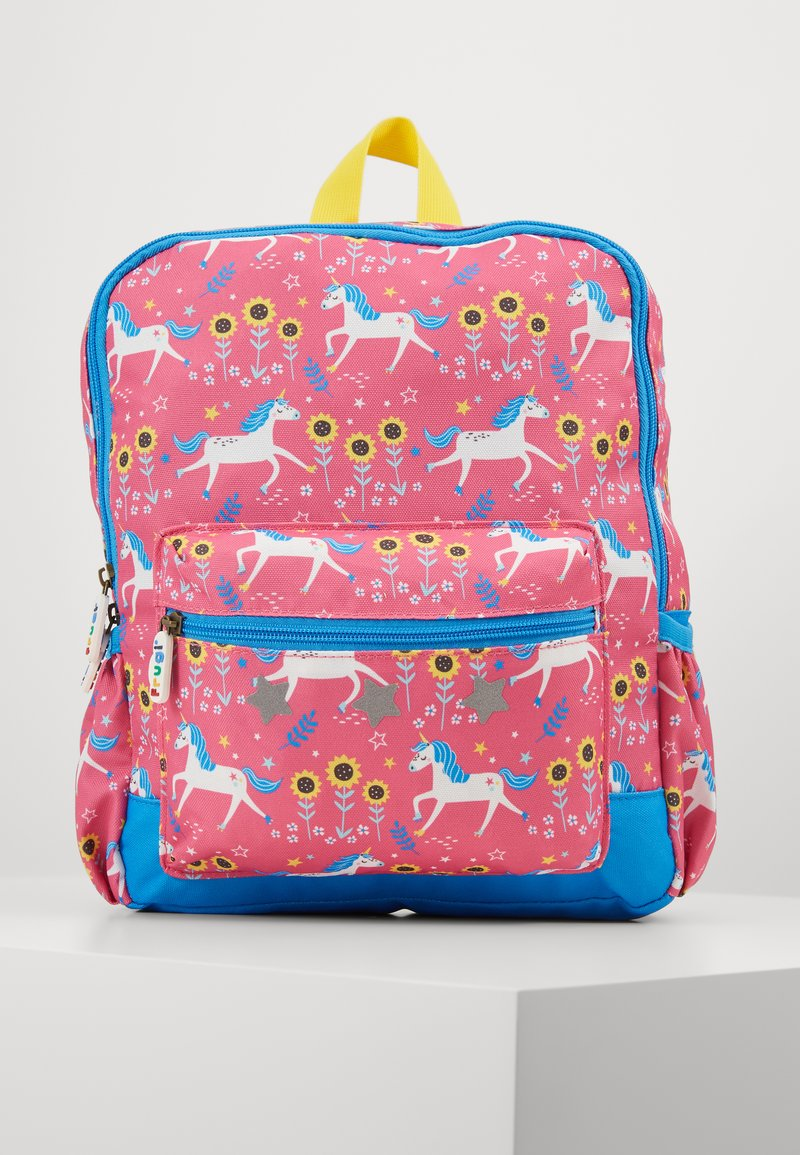 Frugi - ADVENTURERS BACKPACK UNICORN - Reppu - pink/ blue
