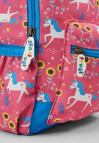 Frugi - ADVENTURERS BACKPACK UNICORN - Reppu - pink/ blue - 2