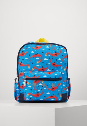 ADVENTURERS BACKPACK DRAGON - Rucksack - blue