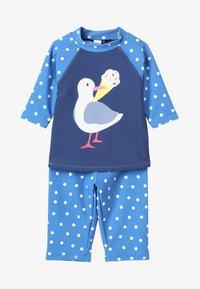 Frugi - KIDS SUN SAFE SET - Costume da bagno - marine blue - 6