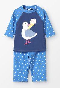 Frugi - KIDS SUN SAFE SET - Costume da bagno - marine blue - 0