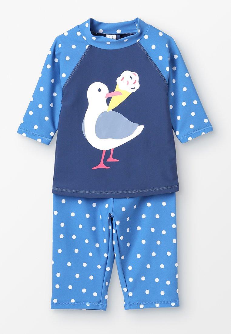Frugi - KIDS SUN SAFE SET - Costume da bagno - marine blue