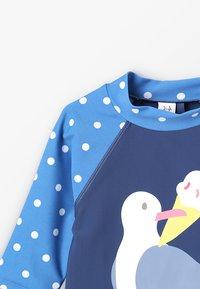 Frugi - KIDS SUN SAFE SET - Costume da bagno - marine blue - 7
