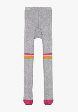 ORGANIC COTTON FUN KNEE TIGHTS - Tights - grey marl/rainbow