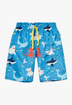 ZGREEN BOARD IN SHARK AND ORCA - Swimming shorts - go with the flow