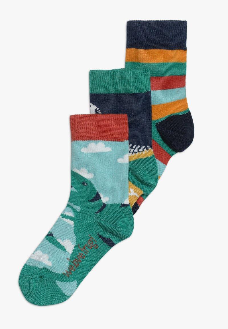 Frugi - ORGANIC COTTON ROCK MY SOCKS DINOSAUR 3 PACK - Socken - multicolor