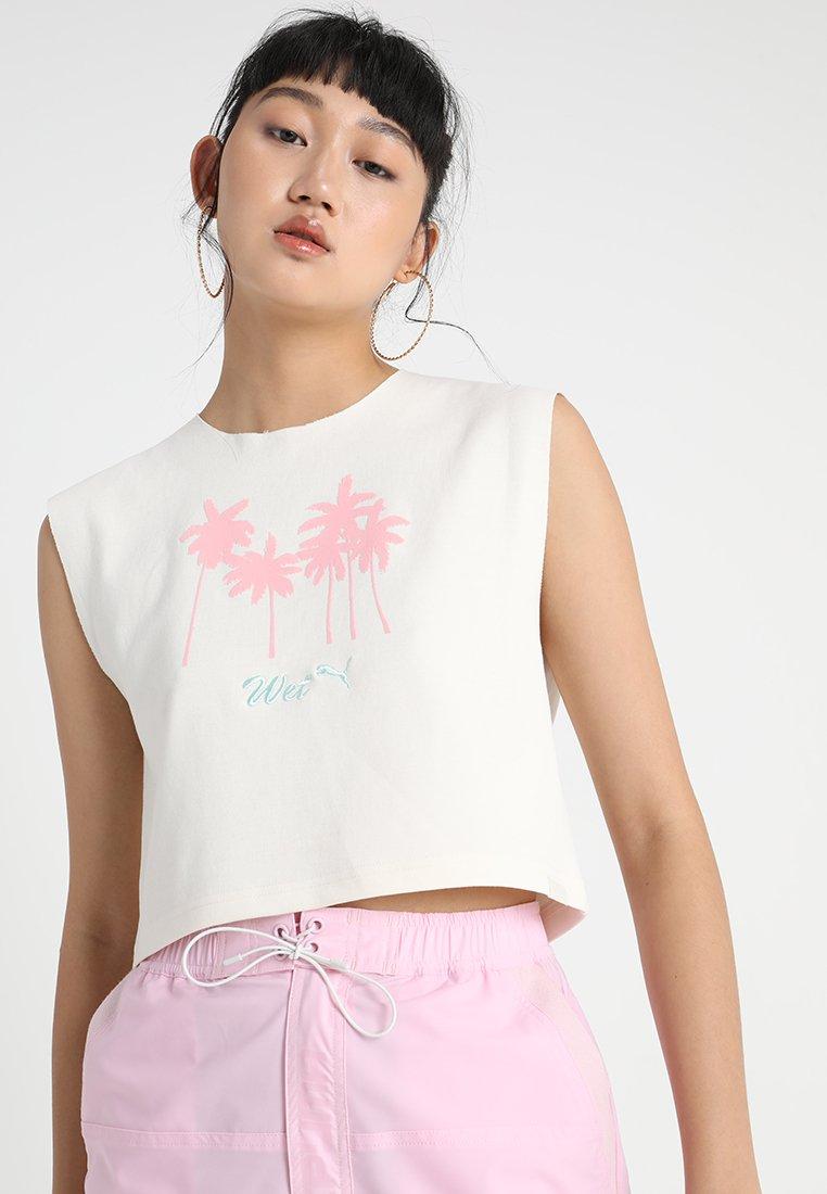 Fenty PUMA by Rihanna - SLEEVELESS CROP  - T-Shirt print - vanilla ice