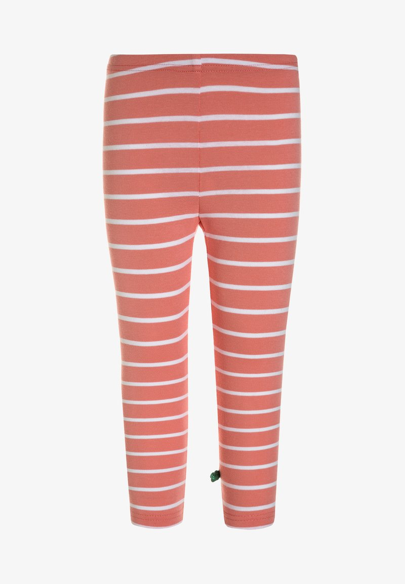 Fred's World by GREEN COTTON - STRIPE  - Leggingsit - coral