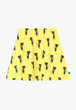 CATS EXCLUSIVE - A-line skirt - yellow