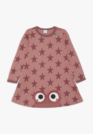 STAR PEEP DRESS - Žerzejové šaty - dream rose