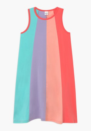 ALFA - Jersey dress - coral