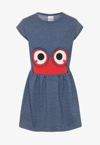 Fred's World by GREEN COTTON - PEEP DRESS - Day dress - denim - 0