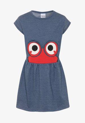 PEEP DRESS - Day dress - denim