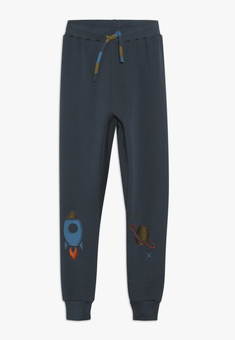 Fred's World by GREEN COTTON - SPACE PANTS - Tracksuit bottoms - midnight