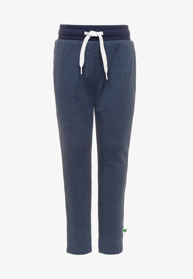 SLIM FIt - Tracksuit bottoms - denim