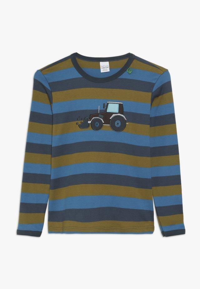 CRANE STRIPE - T-shirt à manches longues - midnight