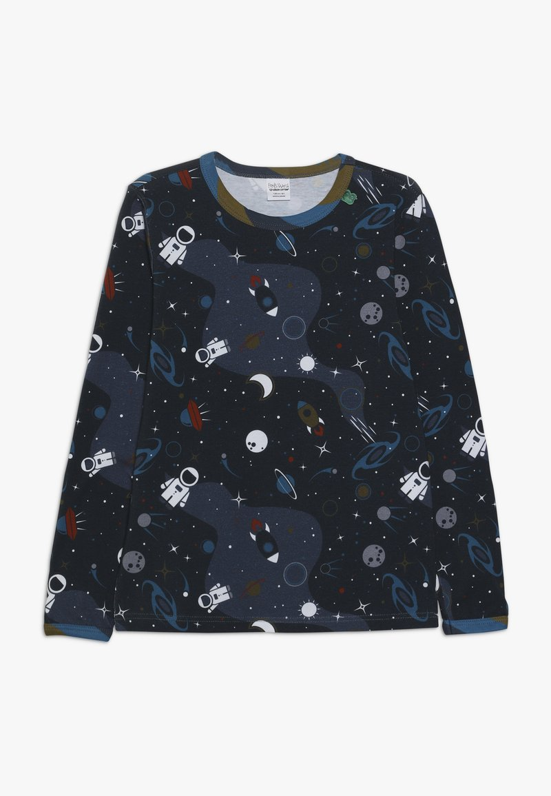 Fred's World by GREEN COTTON - SPACE  - Long sleeved top - midnight