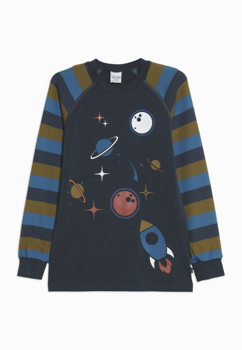 Fred's World by GREEN COTTON - SPACE RAGLAN  - Pitkähihainen paita - midnight