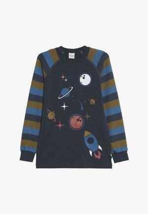 SPACE RAGLAN  - Long sleeved top - midnight