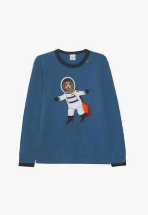 SPACE DOG  - Long sleeved top - deep blue