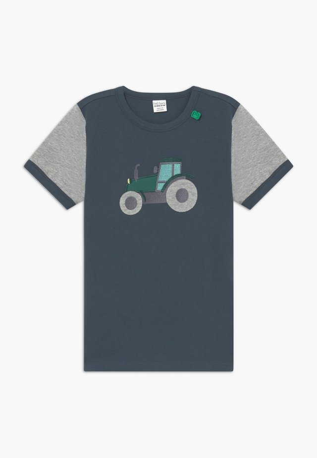 FARMING FRONT - T-shirt con stampa - midnight