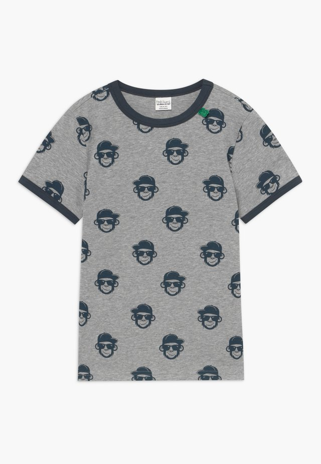 MONKEY EXCLUSIVE - T-shirt med print - yellow