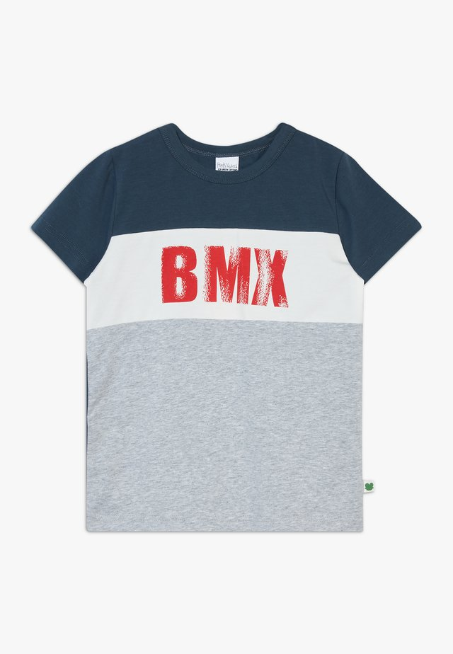 BMX  - T-shirt med print - pale greymarl