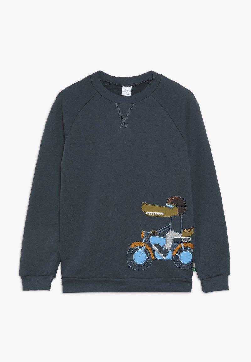 Fred's World by GREEN COTTON - HELLO CROCODILE - Sweatshirt - midnight