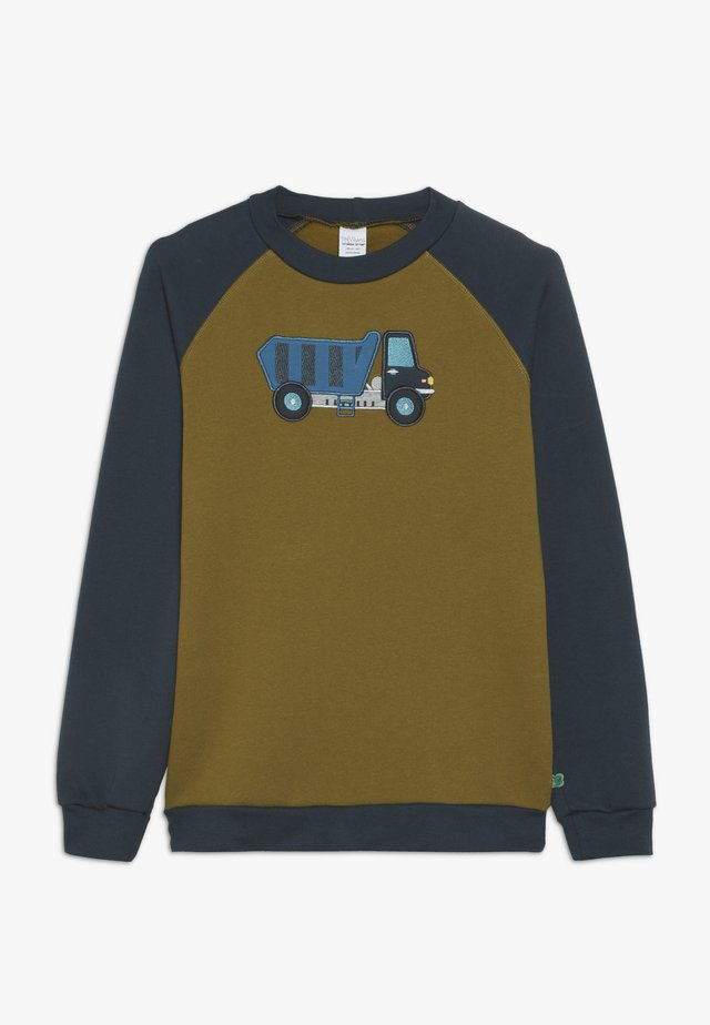 CRANE  - Sweatshirt - dark olive