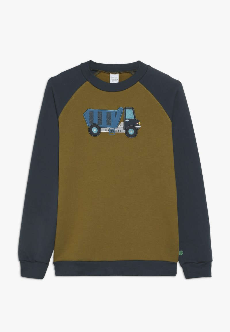 Fred's World by GREEN COTTON - CRANE  - Sweatshirt - dark olive