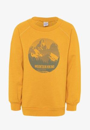 HIKING MOUNTAIN - Sweatshirt - sunflower