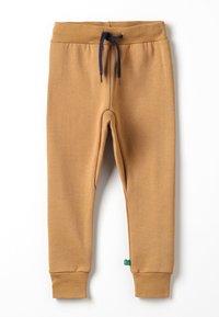 Fred's World by GREEN COTTON - ZGREEN PANTS - Teplákové kalhoty - desert brown - 0