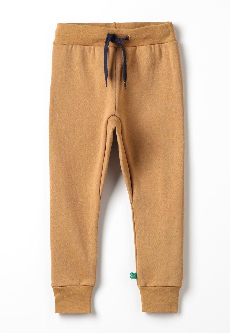 Fred's World by GREEN COTTON - ZGREEN PANTS - Teplákové kalhoty - desert brown