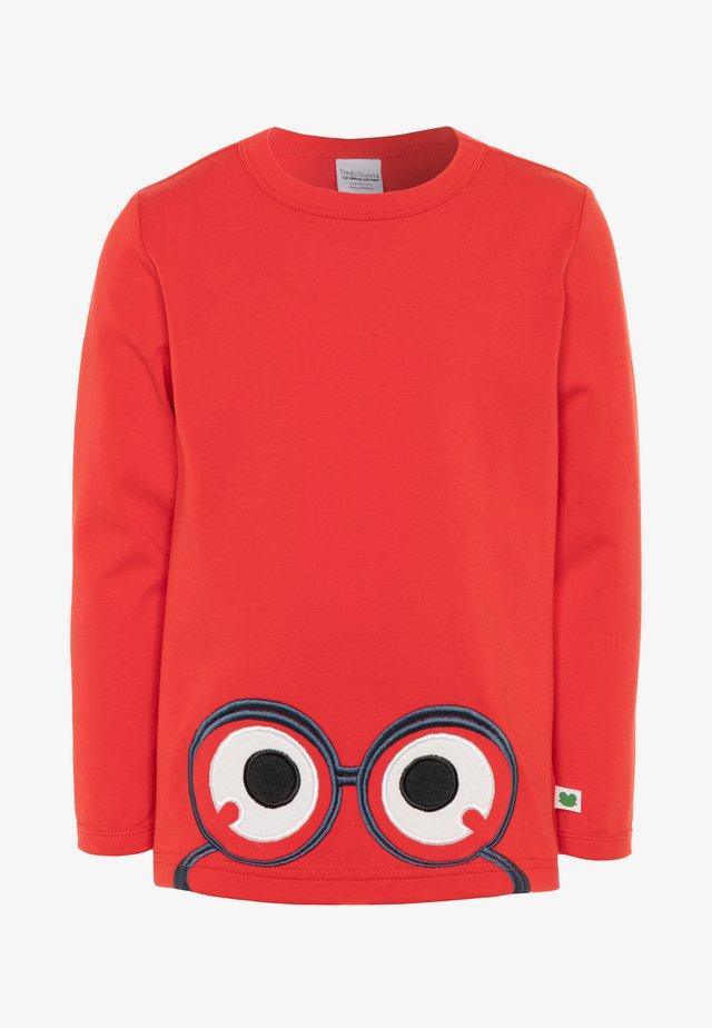 ALFA PEEP  - Långärmad tröja - traffic red