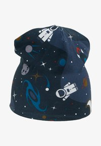 Fred's World by GREEN COTTON - SPACE BEANIE - Muts - midnight - 1