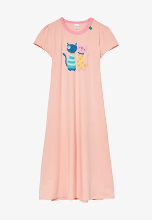 ZGREEN CATS LOUNGEWEAR DRESS EXCLUSIVE - Chemise de nuit / Nuisette - peach