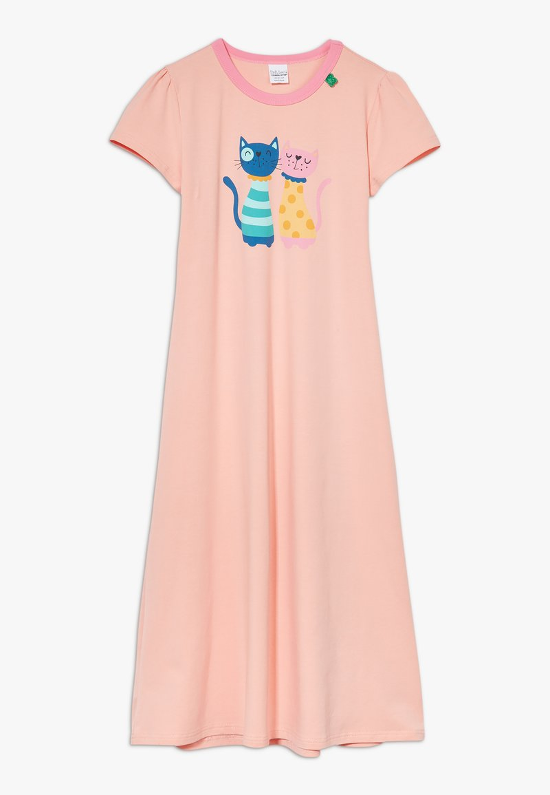 Fred's World by GREEN COTTON - ZGREEN CATS LOUNGEWEAR DRESS EXCLUSIVE - Camisón - peach