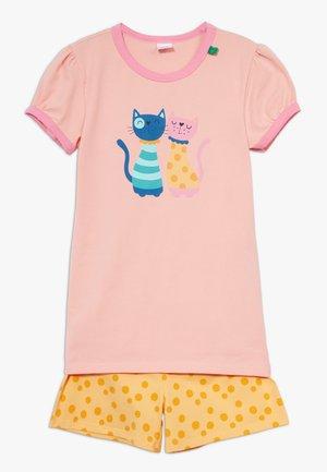 ZGREEN CATS SET - Pijama - peach