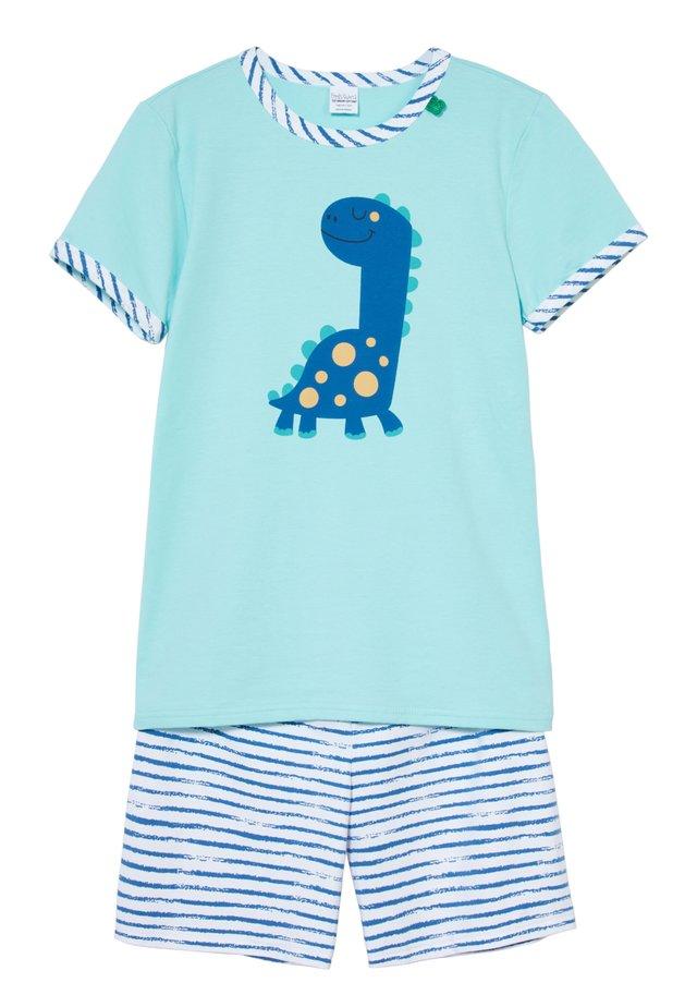 ZGREEN DINO SET - Pyjamas - turquoise