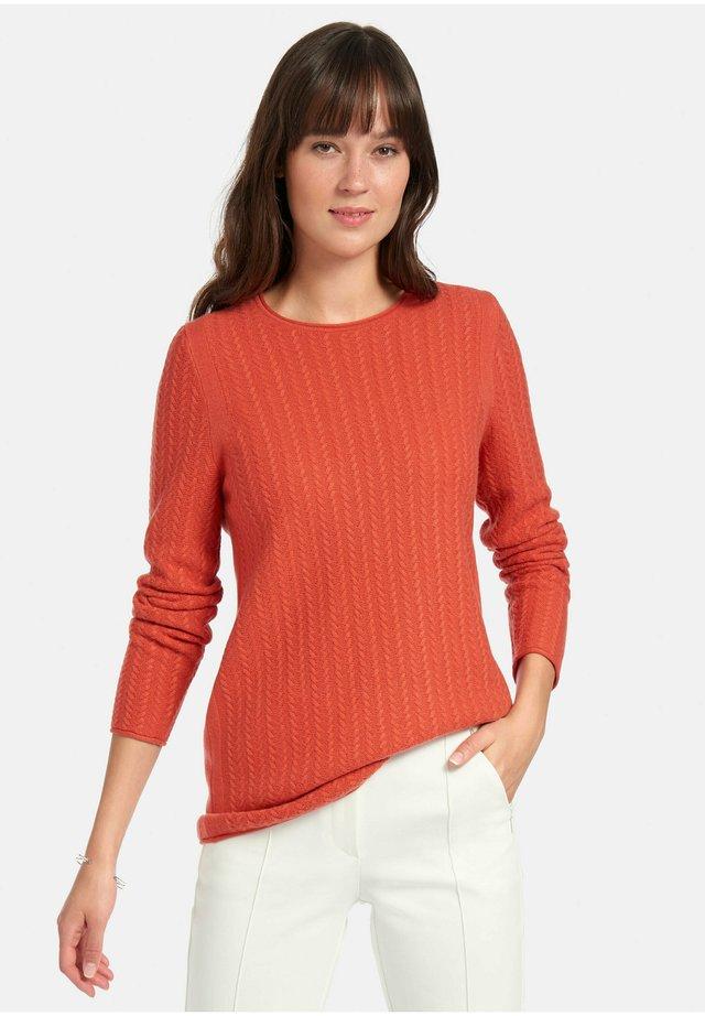 Pullover - mandarine