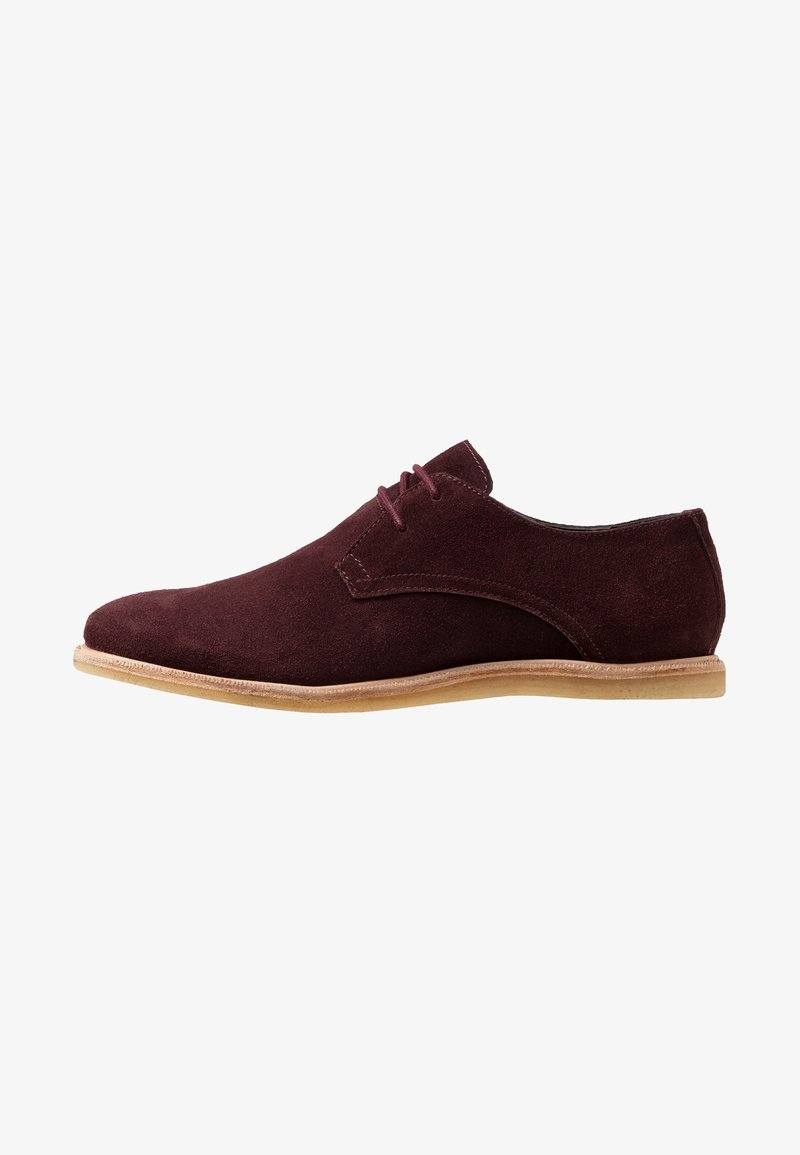 Frank Wright - JORDAN - Casual lace-ups - bordo