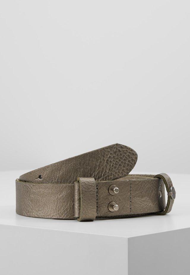 AVERY PHILO - Gürtel - dark bronze-coloured