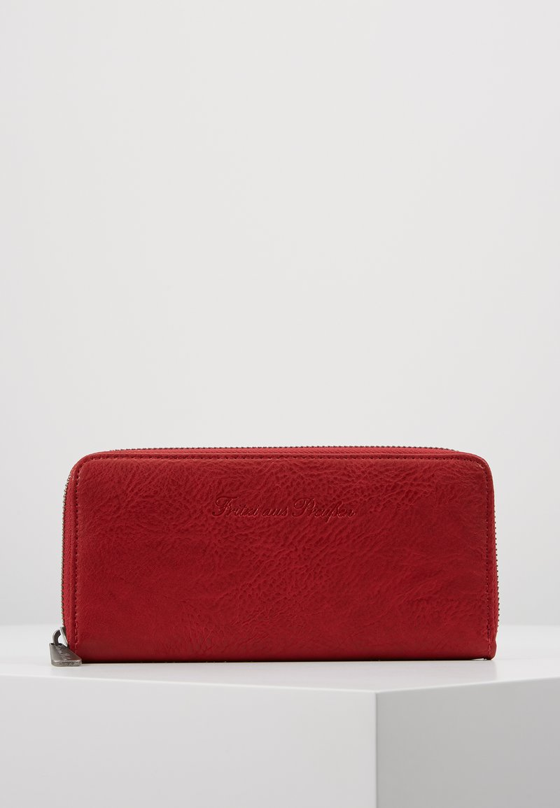 Fritzi aus Preußen - NICOLE SADDLE - Portefeuille - bright rusty red
