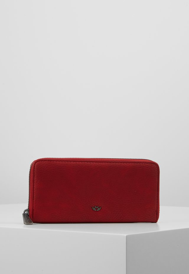 NICOLE CARIBOU - Wallet - red
